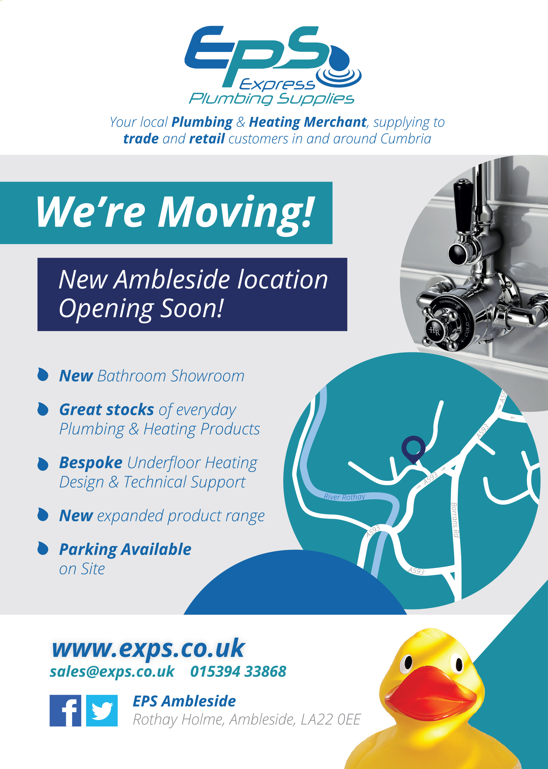 New Ambleside Location Opening Soon!